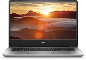 "Dell Inspiron 14 5485 i5485-A186SLV-PUS Laptop (Windows 10 Home, AMD Ryzen(Tm) 3 3200U, 14"" LED Screen, Storage: 128 GB, RAM: 4 GB) Silver (Renewed)"