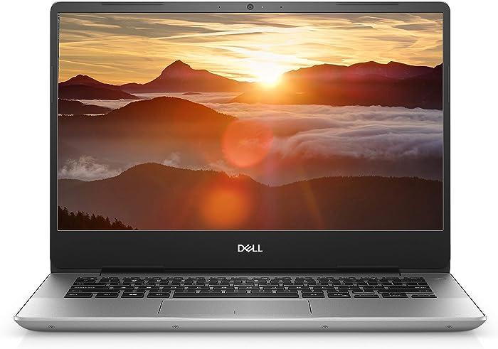 """Dell Inspiron 14 5485 i5485-A186SLV-PUS Laptop (Windows 10 Home, AMD Ryzen(Tm) 3 3200U, 14"""" LED Screen, Storage: 128 GB, RAM: 4 GB) Silver (Renewed)"""