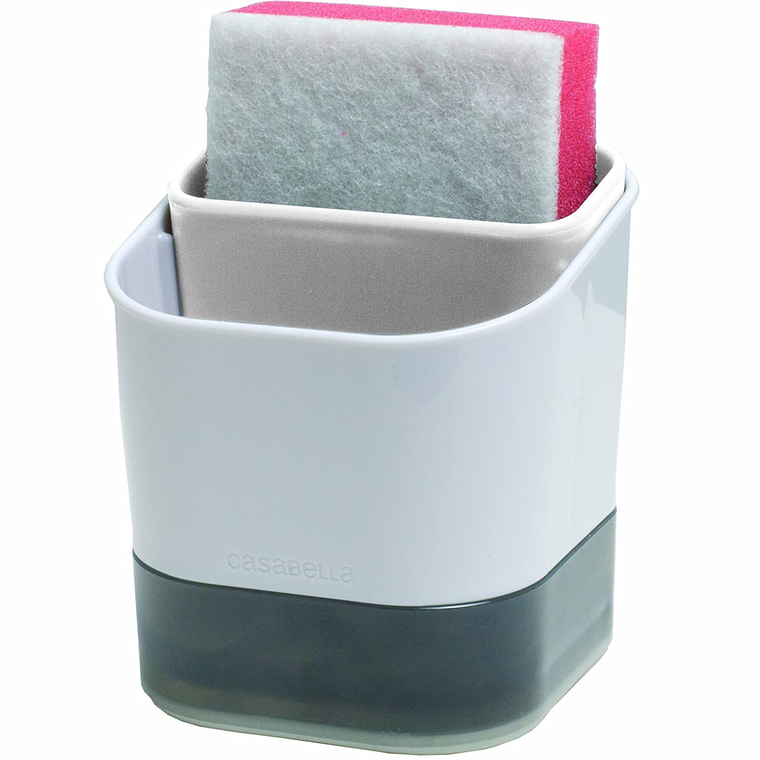 Casabella 50108 Double Sponge Holder with Sponge