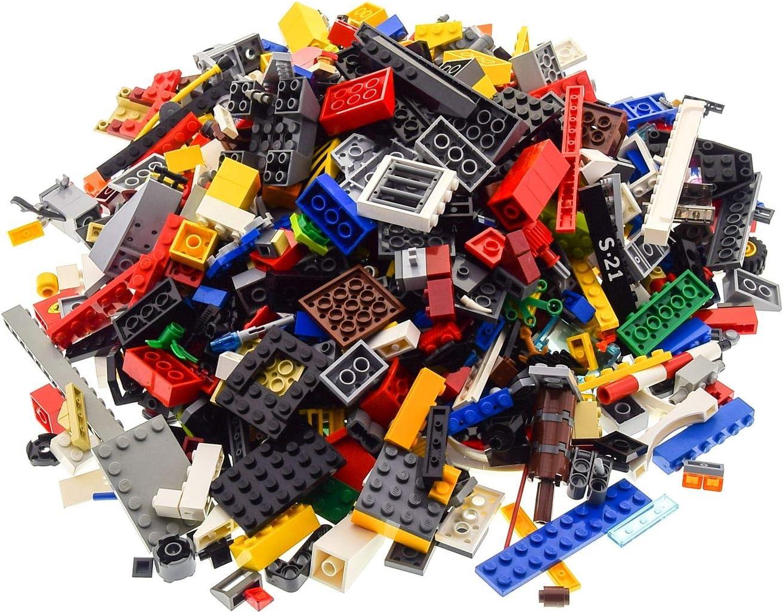 4 Kg Lego System Steine Kiloware bunt gemischt z.B Sonderteile Räder Fenster