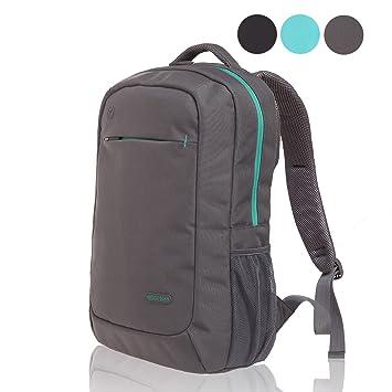 Gearmax Laptop Mochilas Solid Bolsa de Deporte para Hombre de Moda para Macbook Pro 15.6 Inch Impermeable Mochila de Viaje de Nailon 14: Amazon.es: ...