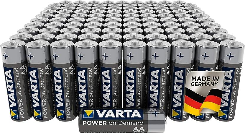 Varta Power On Demand Aa Mignon Batteries In Elektronik