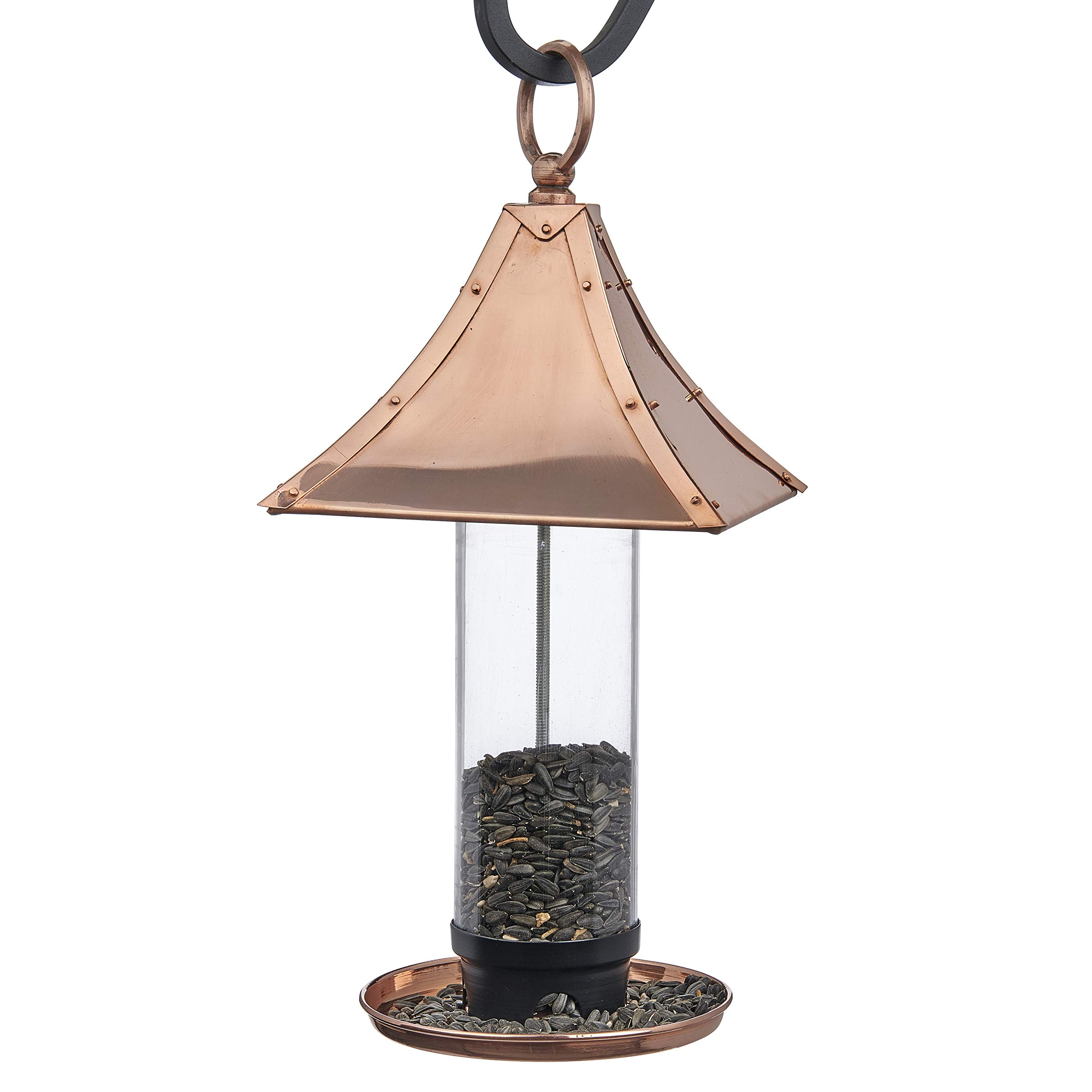 Good Directions T01P Palazzo Bird Feeder, Polished Copper