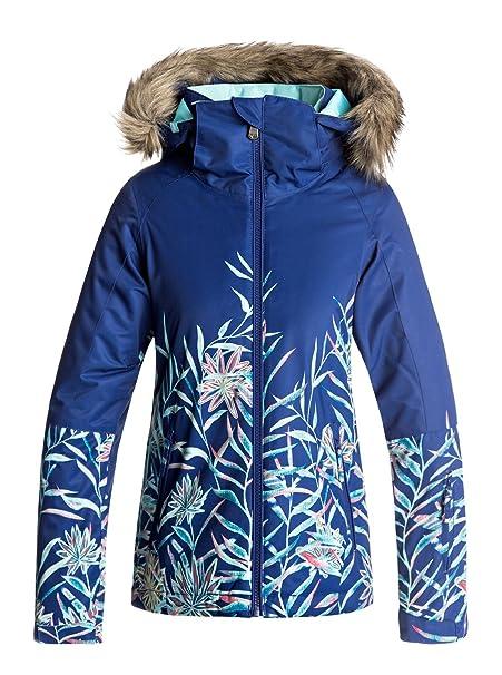 Roxy - Chaqueta para Nieve - Chicas 8-16 - Azul: Roxy ...