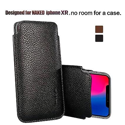 Amazon.com: Funda de piel sintética para iPhone XR, de Modos ...