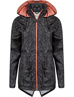 39c89a5d789 Tokyo Laundry Womens Fusion Showerproof Raincoat Ladies Windbreaker  Longline Jacket