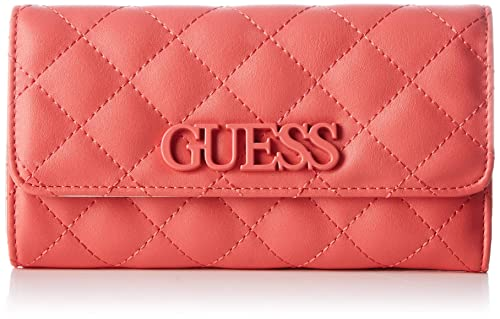 Guess - Elliana Slg Pocket Trifold, Mujer, Negro (Coral ...
