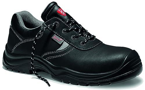 Jori 12111 Basic Compo Low S3 Hombre y Mujer Trabajo & Zapatos de Seguridad, Cuero