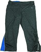 Tangerine Ladies Size Medium Active Pants Black Heather/Cobalt Blue