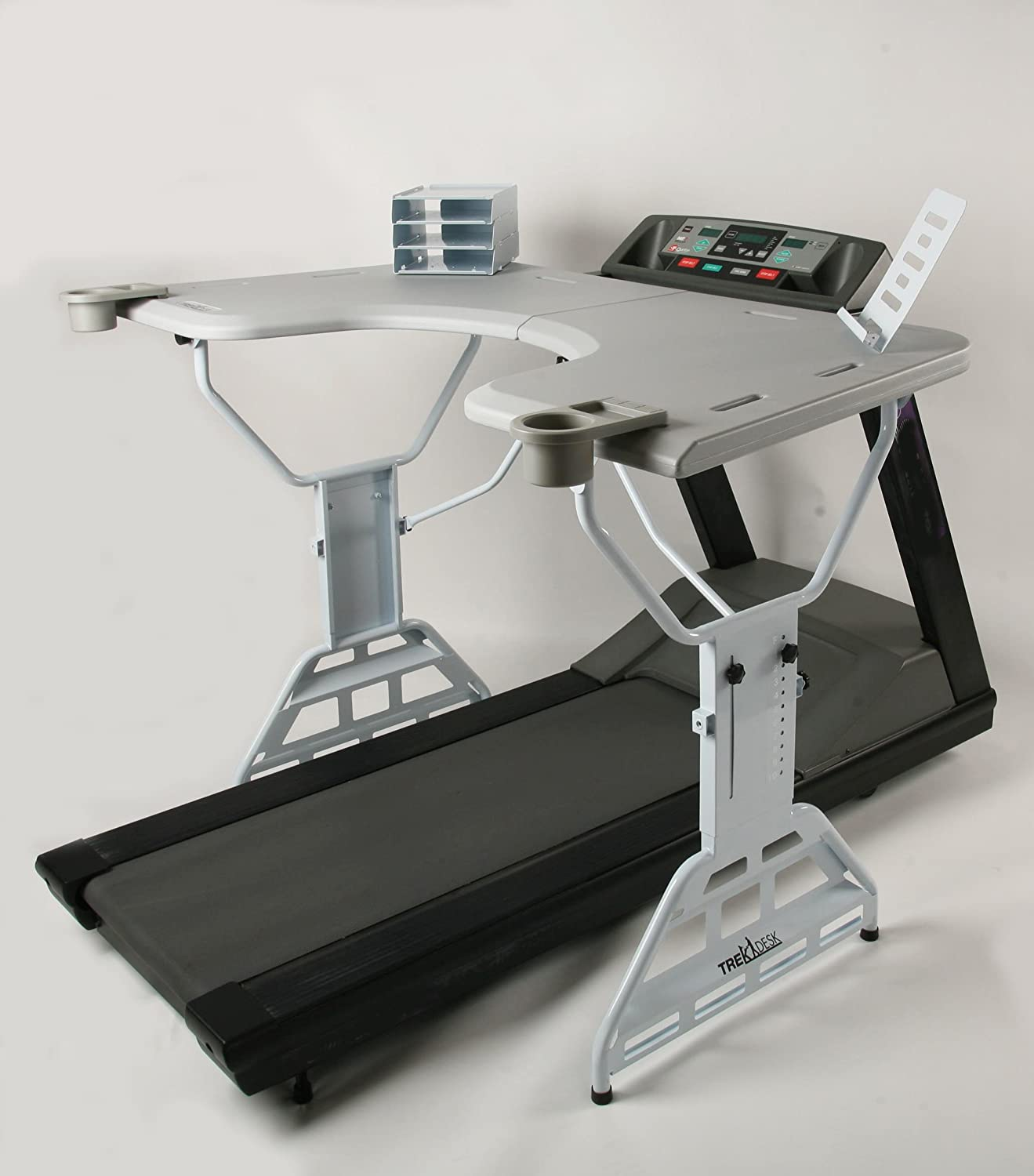 Amazon.com : TrekDesk Treadmill Desk   Walking And Standing Desk For  Treadmill   Perfect Treadmill Workstation : Exercise Treadmills : Sports U0026  Outdoors