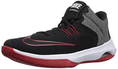Nike Men's Air Versatile II Black Red Basketball Shoes