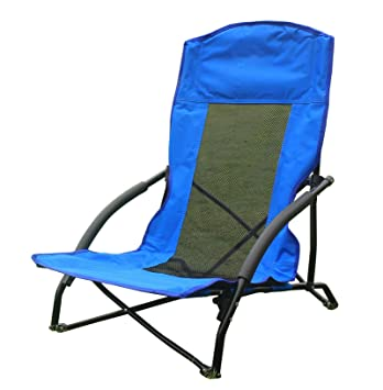 Funs Portable Low Sling Folding Chair, Compact In A Bag. Best For Outdoor  Camping