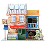 3D Puzzle Handmade Assemble toys for kids Hotel Flower Shop