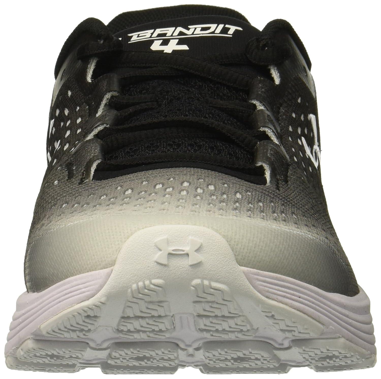 Under Armour Women's Shoe Charged Bandit 4 Running Shoe Women's B076S9W1RP 11 M US|Black (001)/Elemental 03705a