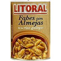 Litoral Fabes con Almejas. Plato Cocinado - 440