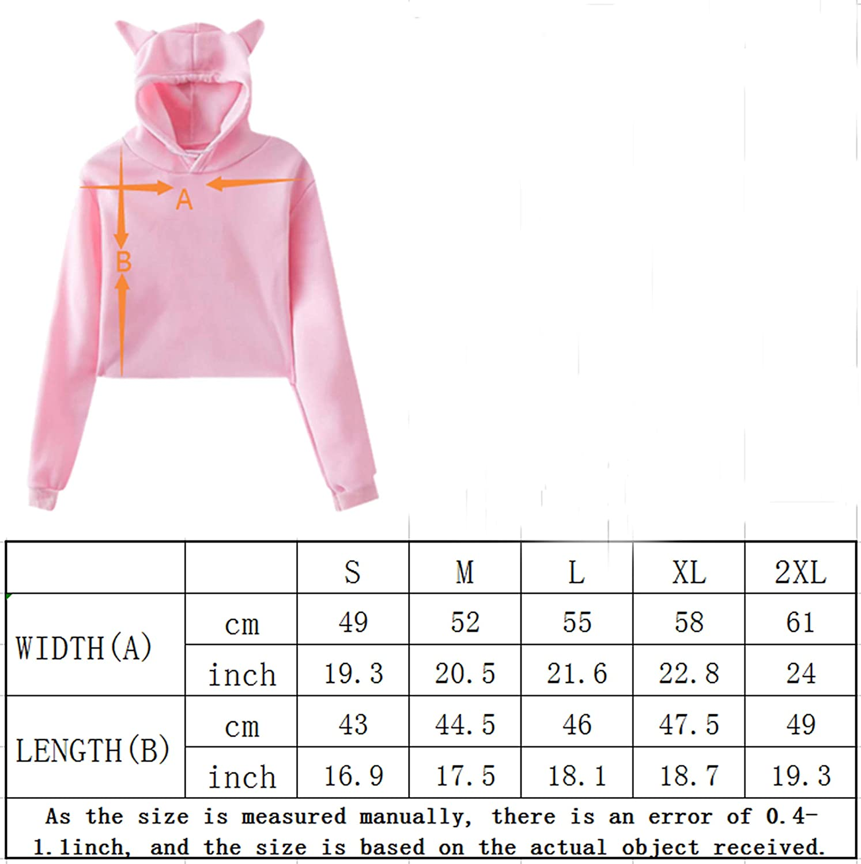 Danielle Bradbery Girls Fashion Cat Ear Hoodie Sweater Black