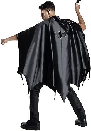 Rubieu0027s Costume CO Menu0027s DC Superheroes Deluxe Batman Cape Black ...  sc 1 st  Amazon.com & Amazon.com: Rubieu0027s Costume CO Menu0027s DC Superheroes Deluxe Batman ...