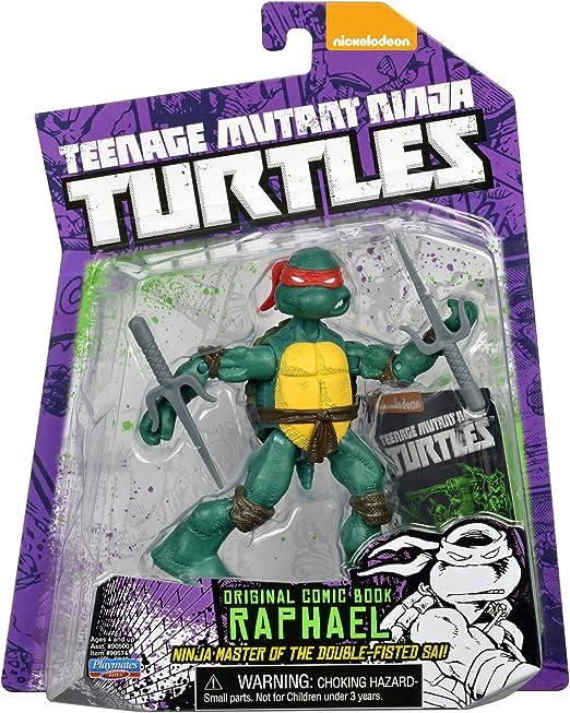 Teenage Mutant Ninja Turtles Comic Book Raphael Figure