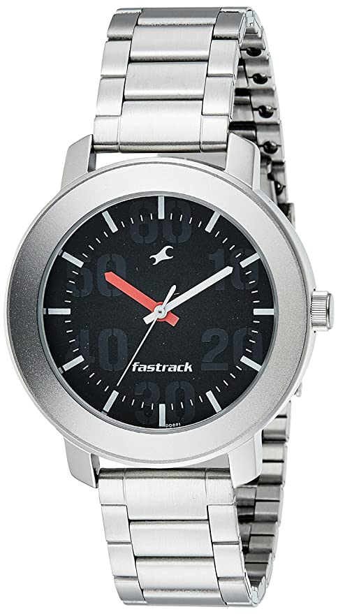 f932244f8 Buy Fastrack Casual Analog Black Dial Men s Watch -NK3121SM02 Online at Low  Prices in India - Amazon.in