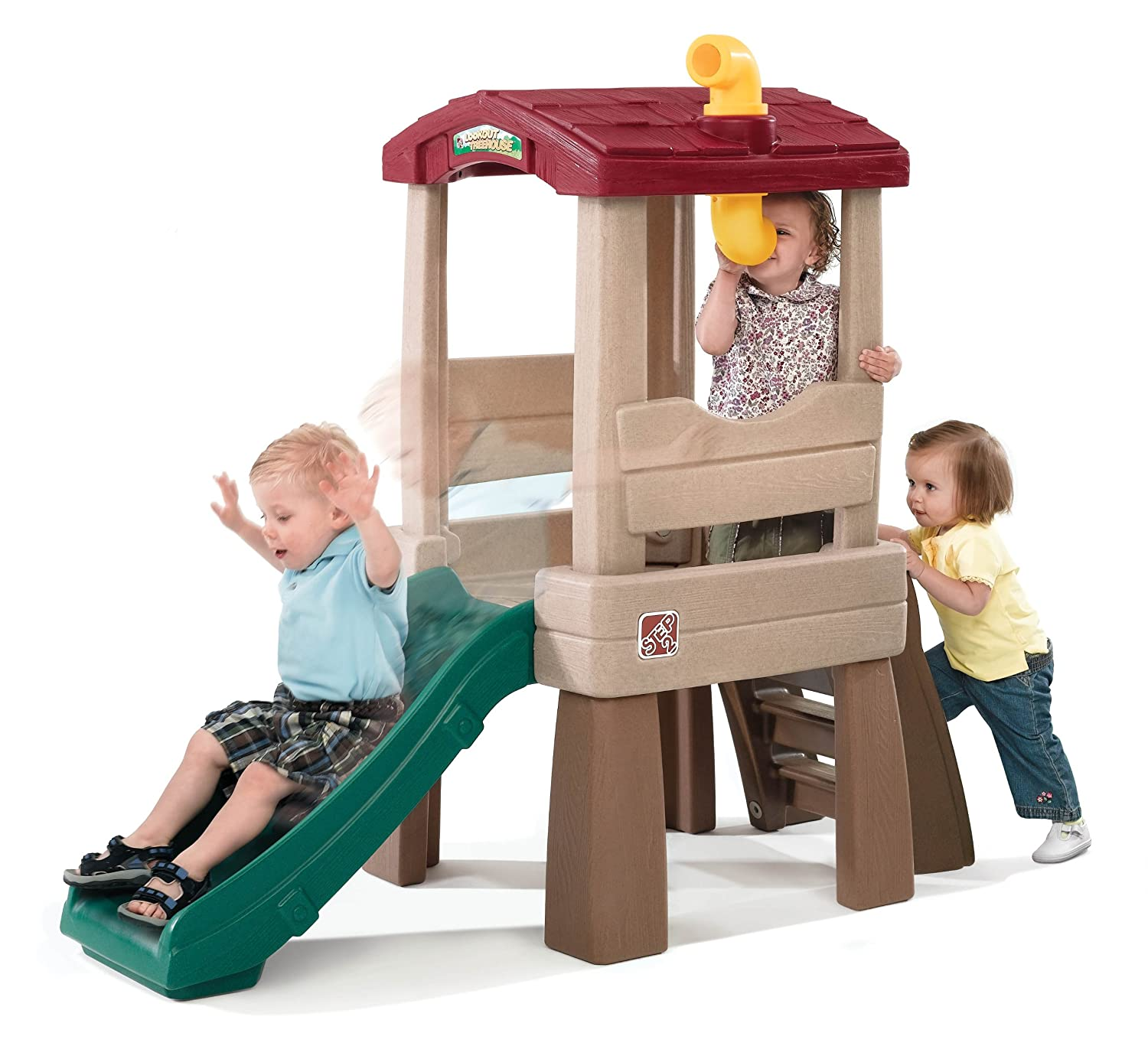 Amazon Step2 Naturally Playful Lookout Treehouse Toys & Games