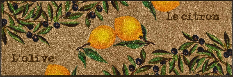 Wash+dry Fußmatte Le Citron 60x180 cm