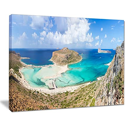 Design Art Balos Beach At Crete Island Greece Oversized