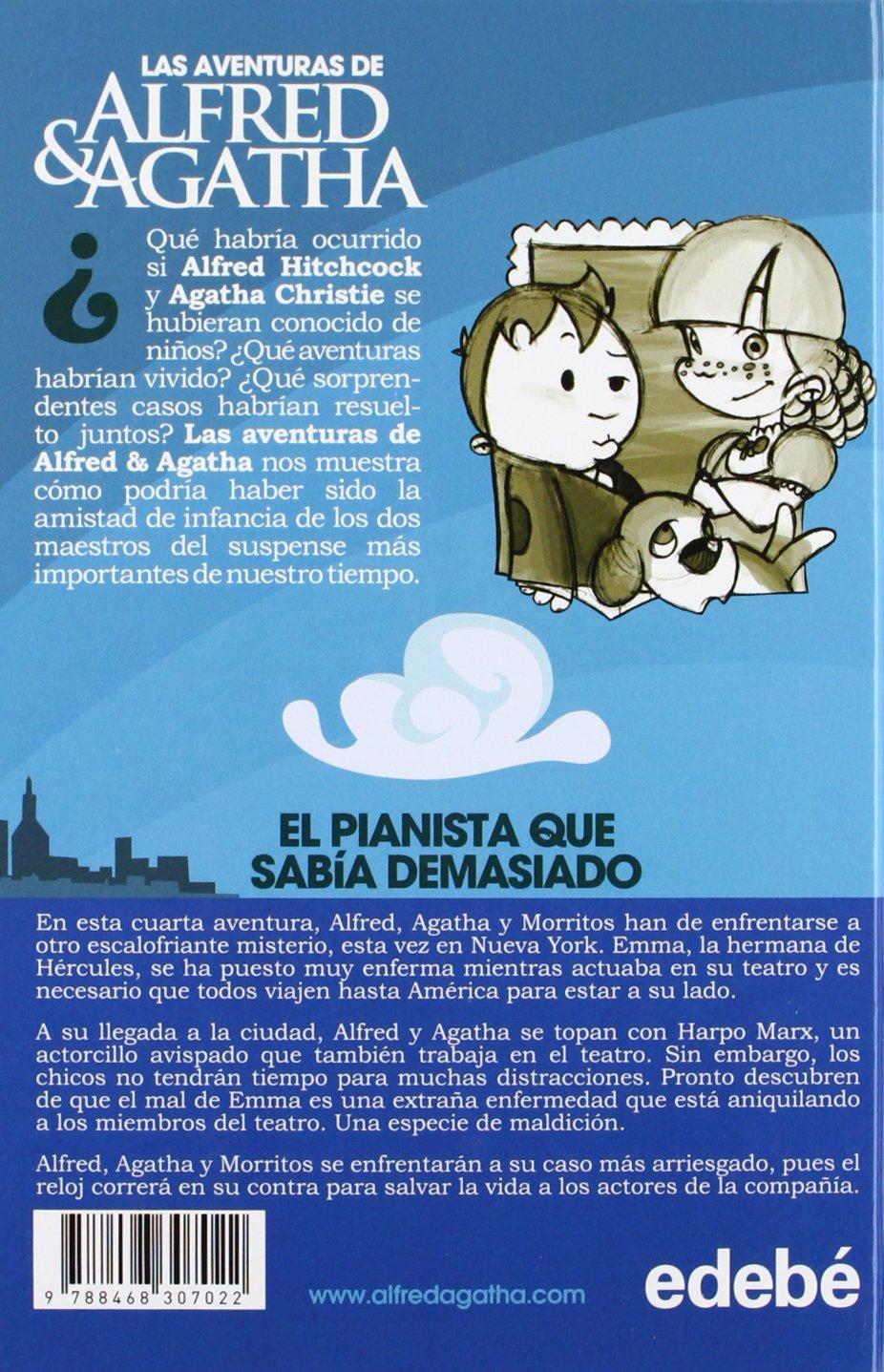 El pianista que sabía demasiado: Ana; Alonso Álex (il.) Campoy: 9788468307022: Amazon.com: Books