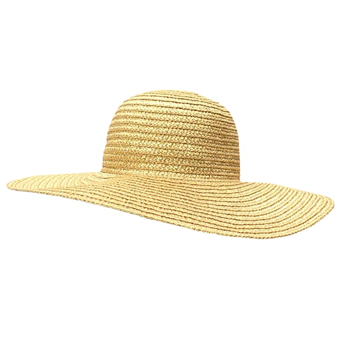 b59067a167d Image Unavailable. Image not available for. Color  AUGUST HAT COMPANY  Women s Super Floppy Packable Sun ...