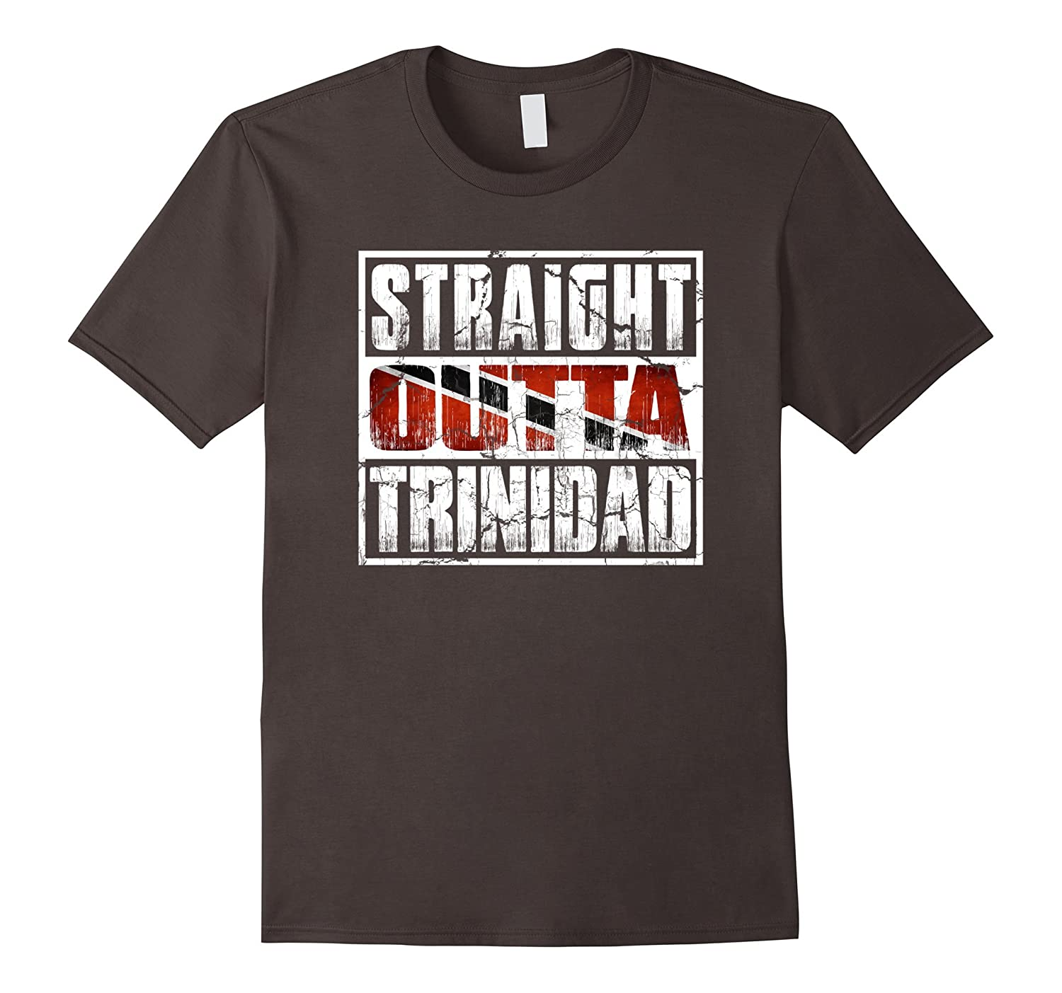 Straight Outta Trinidad t-shirt ~ Trinidad Flag-TH