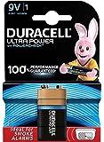 Duracell Ultra Power Piles Alcaline type 9V, Lot de 1