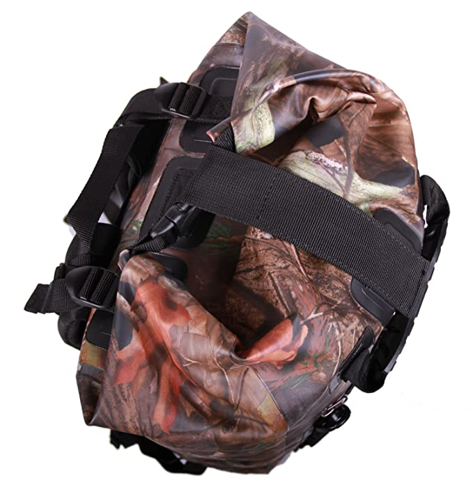58ce14d97f Amazon.com   Rockagator GEN3 RG-25 40 Liter Waterproof Dry Bag Backpack  (CAMO)   Sports   Outdoors