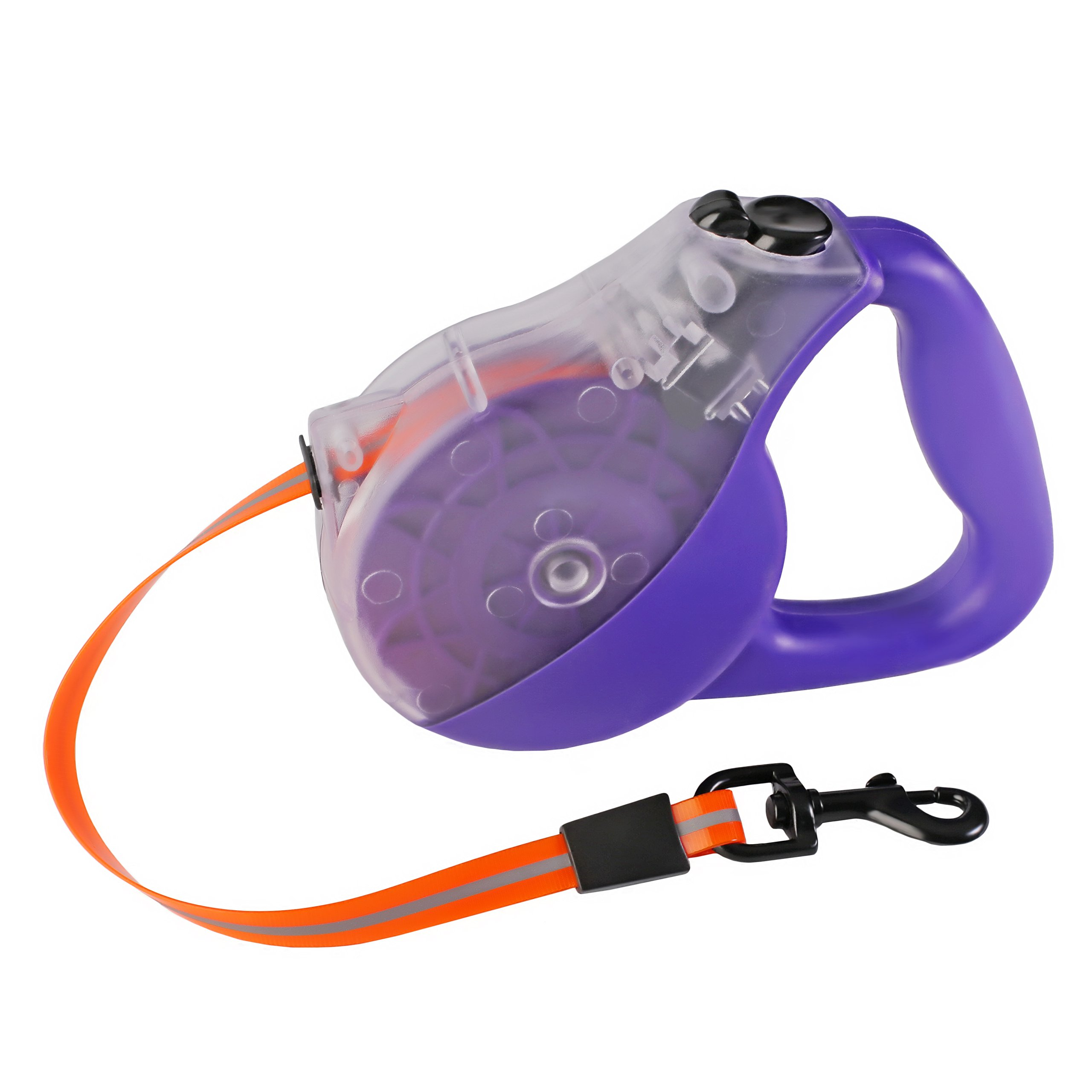 LINSISYH Retractable Dog Leash Heavy Duty, For Large or Medium Pets (purple)