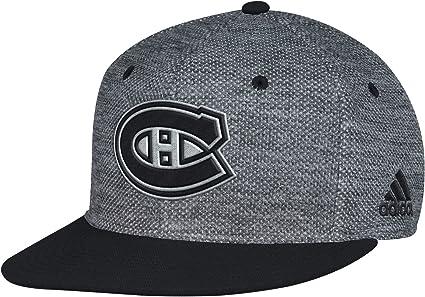 Adidas Canadiens De Montreal Nhl Plat Visiere Casquette Flex Amazon Fr Sports Et Loisirs