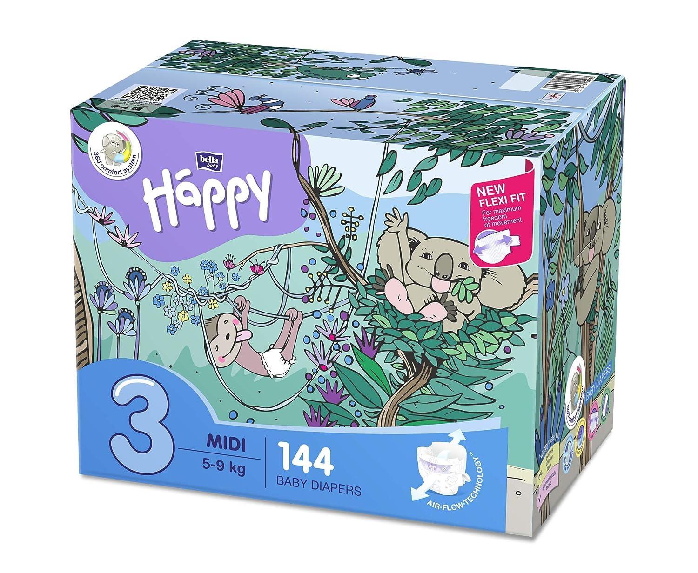 Bella Baby Happy Windeln Größe 6 Junior Extra, 1er Pack (1 x 108 Stück) BB-054-JX02-008