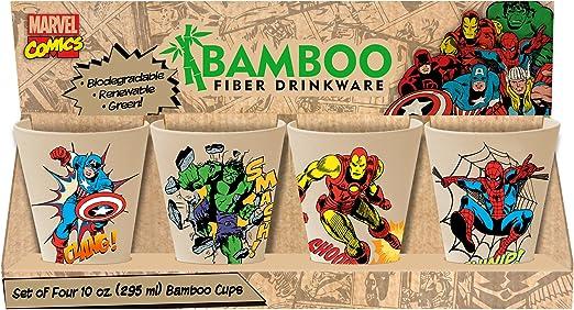 99103 Vandor Star Wars 4-Piece 10-Ounce Bamboo Cup Set