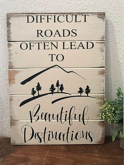 Amazon.com: Los caminos difíciles a menudo conducen a ...