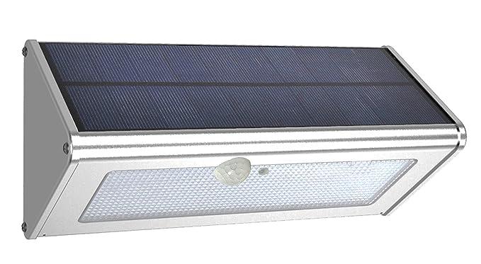 Leyoda 1100 Lumens (max) Luz Solar 46 LED Impermeable Al Aire Libre de 4500mAh