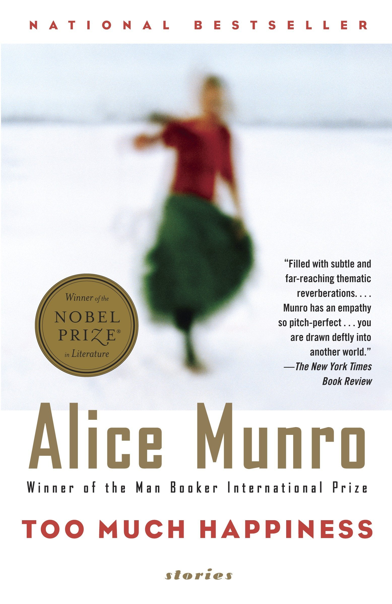 Too Much Happiness (Vintage International): Amazon.es: Alice Munro: Libros en idiomas extranjeros