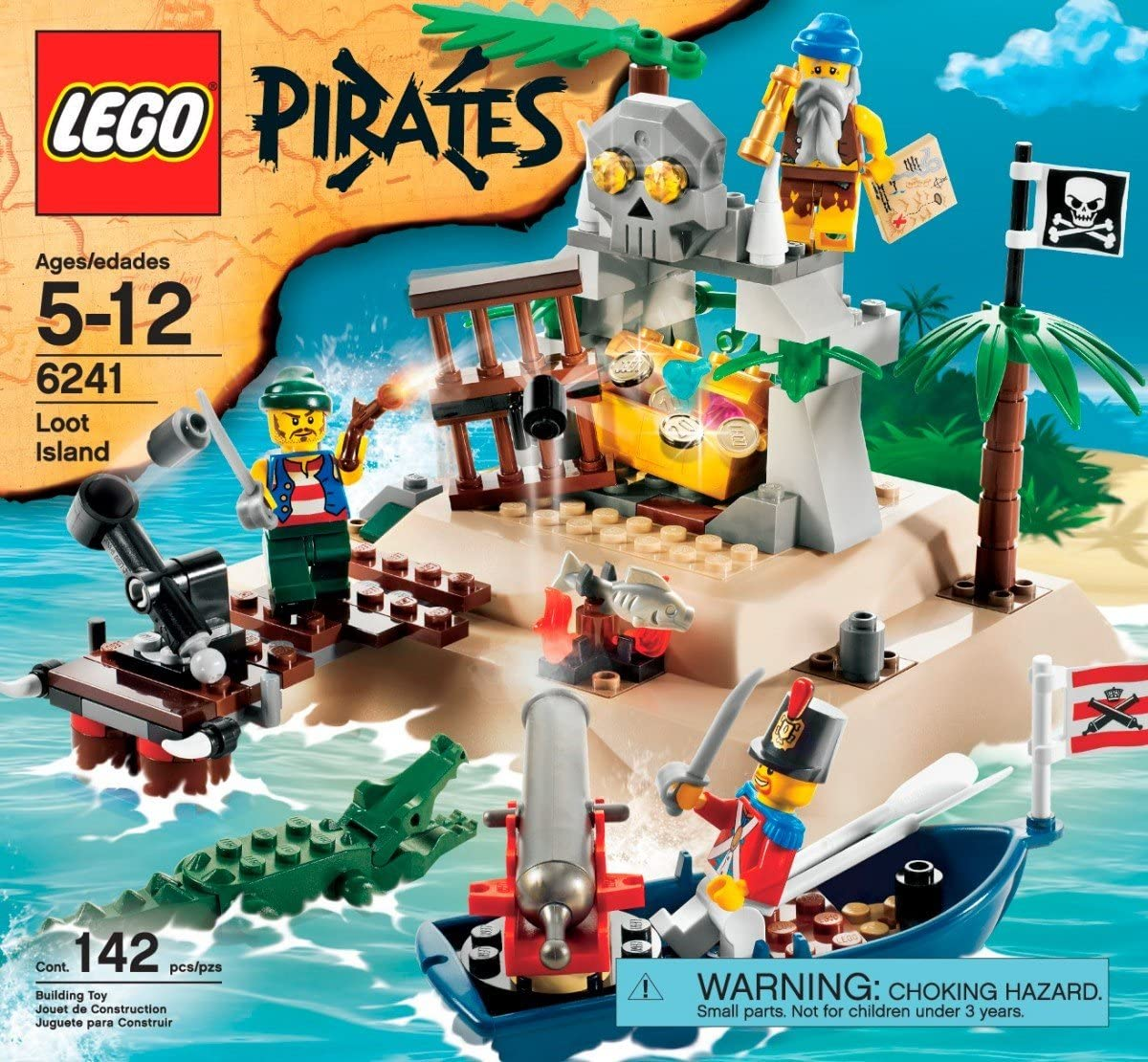 LEGO Pirates Loot Island by LEGO: Amazon.es: Juguetes y juegos