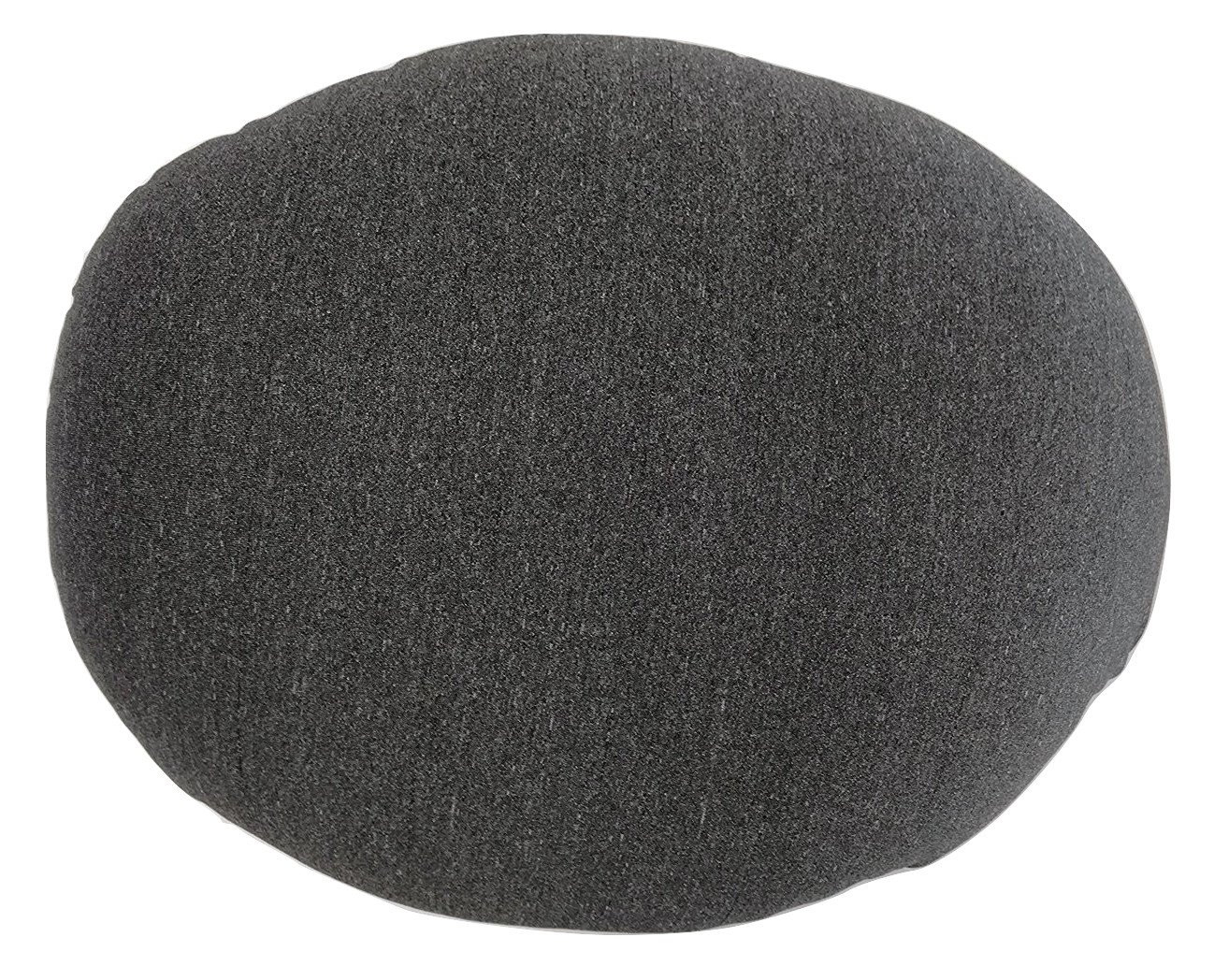 "Tache Micro Bead Solid Grey Realistic Stone Pillow - Squishy Realistic Novelty Pebble Rock Nature Décor - Round Cushion 12x16"" - Nature-inspired Design: These stone pillows were designed to resemble pebble stones; featuring a realistic appearance with the softness and comfort of a pillow. Micro-bead filling: The micro beads are super comfortable and promote relaxation. They also help keep the pillow breathable and cool along with its spandex outer shell. The fabric is stretchy and micro beads are squishy making it easy for versatile use. Uses: These pillows can be used as floor pillows, chair cushions, throw pillows, also as props for a photo studio or play. These are made from a very versatile and contemporary design that can be used in almost any room and for any purpose. - living-room-soft-furnishings, living-room, decorative-pillows - 81yzsHCp8HL -"
