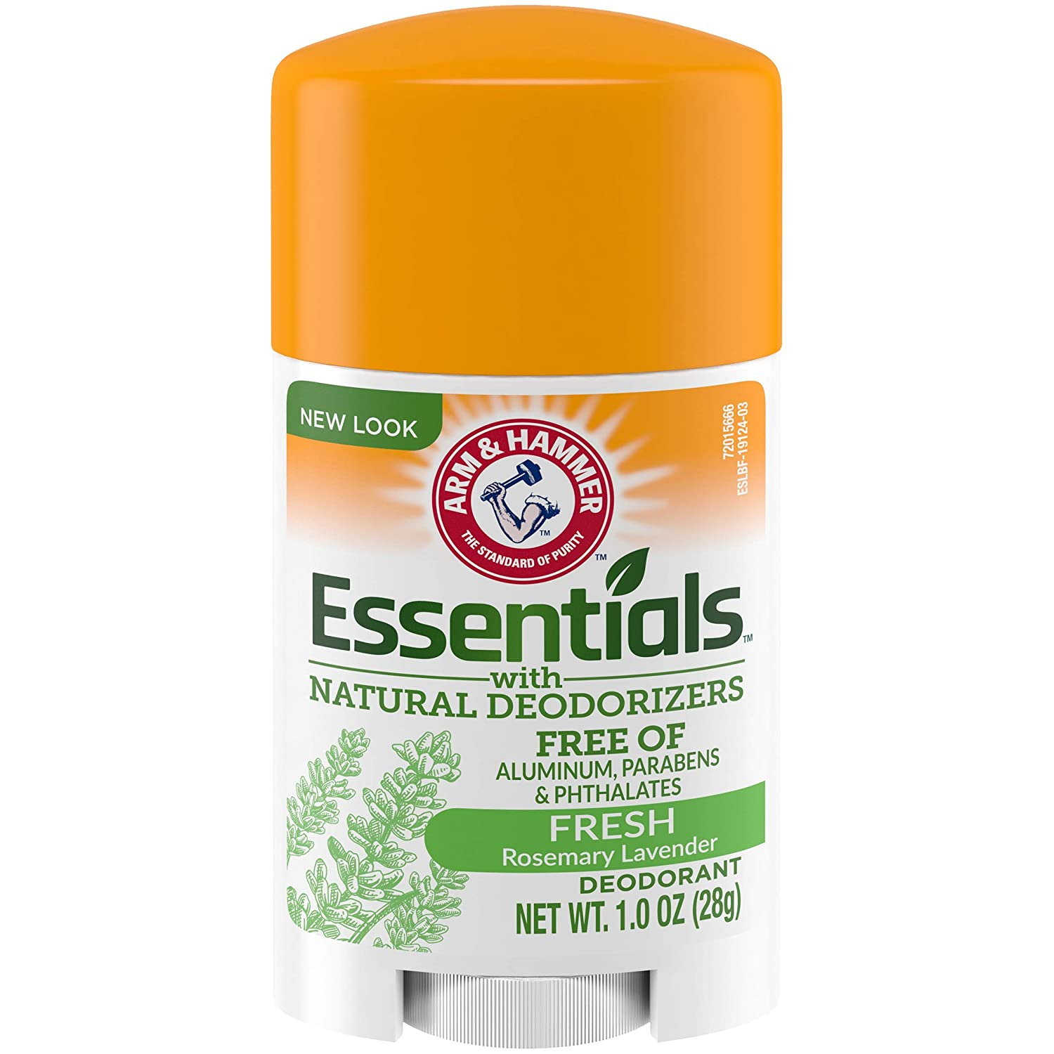 Arm & Hammer Essentials Deodorant, Fresh, 1 Oz