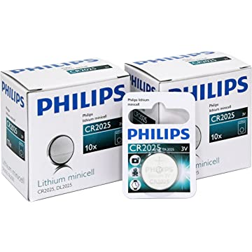 Philips Lithium Minicell