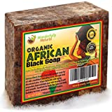 Organic African Black Soap | Natural Acne Treatment | Combination Eye wrinkle treatment | Spot Testing Kit included | 1 lb