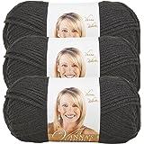 Bulk Buy: Vanna's Choice Yarn (3-Pack) Black 860-153