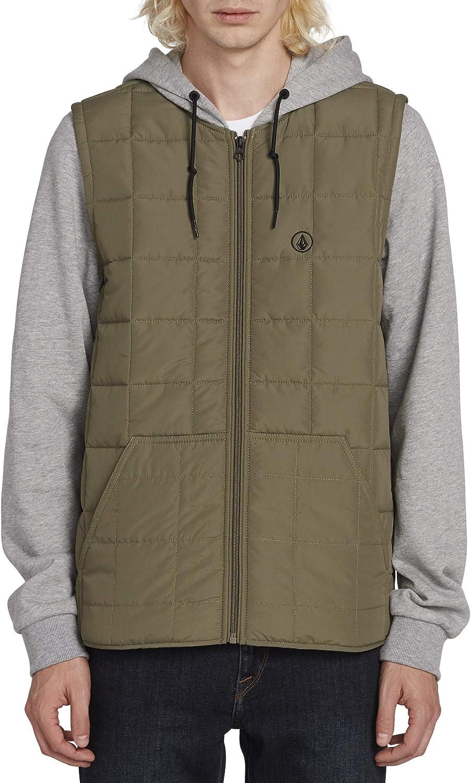 Volcom mens Volcom Men's September Puff Body Hooded Jacket: Clothing