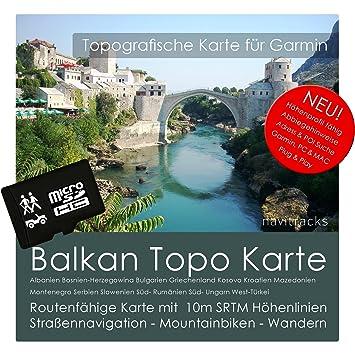Carte Balkans Adriatique Garmin Topo sur microSD 8 Go. Avec l