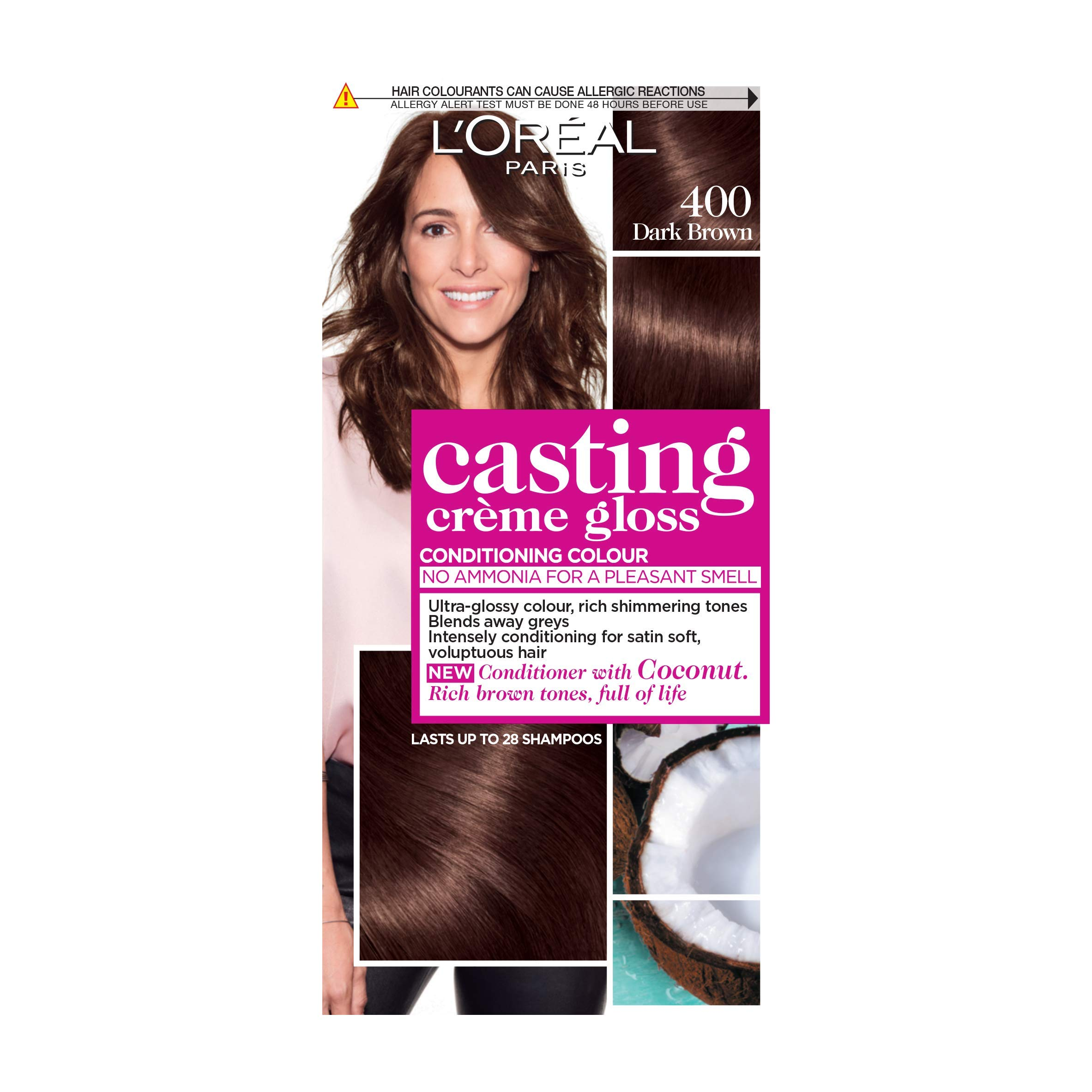 Amazon Loreal Casting Creme Gloss Hair Color Dark Brown 400