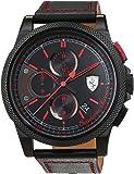 Scuderia Ferrari Orologi Homme Montre avec bracelet Formula Italia S à quartz analogique cuir 0830273