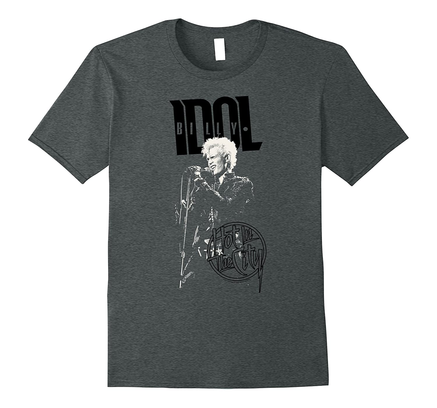 Billy Idol - Hot in the City T-Shirt-TJ