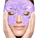 PerfeCore Eye Mask Get Rid of Puffy Eyes Migraine Relief, Sleeping, Travel Therapeutic Hot Cold Compress Pack With Cover Gel